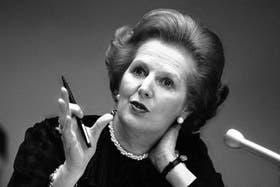 Margaret Thatcher falleció esta semana