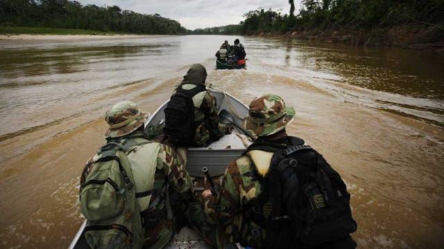 Lucha contra los narcos en la selva