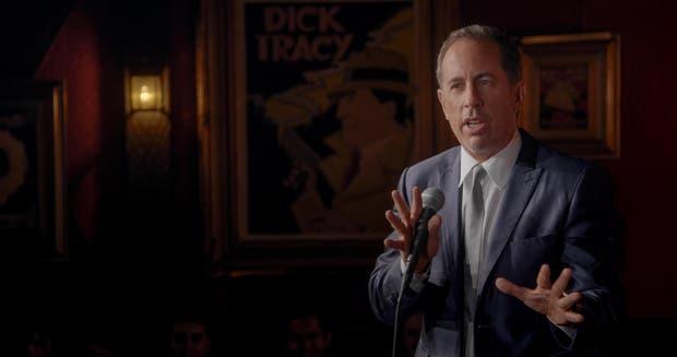 Jerry Seinfeld en su especial de comedia