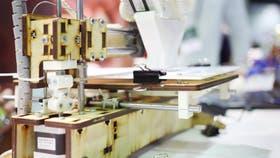 En una de las acciones se imprimieron las tabletas en 3D
