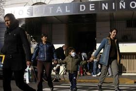 Los afectados fueron trasladados a otros hospitales