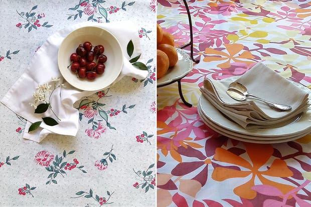 Para la mesa, los diseños de Omna.  Foto:Living /Gentileza Omna