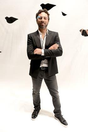 Sergey Brin, con sus Google Glass