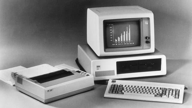 La PC tal como se promocionaba hace 35 años