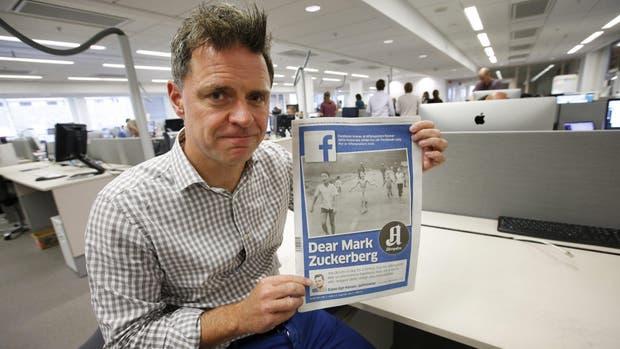 Espen Egil Hansen, redactor jefe del diario más leído de Noruega, con la carta abierta a Mark Zuckerberg por la polémica censura de Facebook a la histórica foto de la guerra de Vietnam
