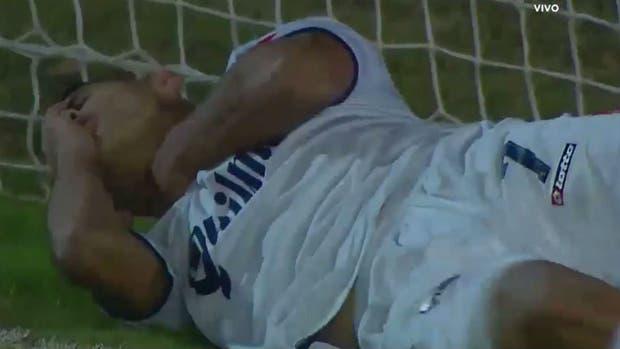 El dolor del futbolista