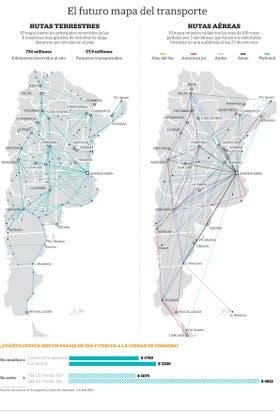 El futuro mapa del transporte