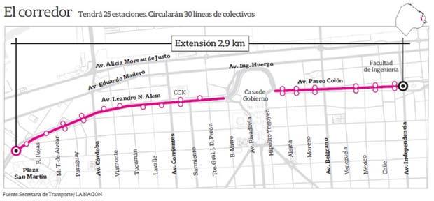 La extensión del Metrobús del Bajo