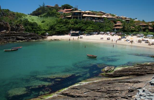 Playa de Ferradurinha en Buzios