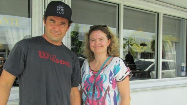 Cedric y su esposa vinieron desde Francia a pasar unas vacaciones en Miami. No sabían que se habían detectado casos del virus zika en el barrio de Wynwood