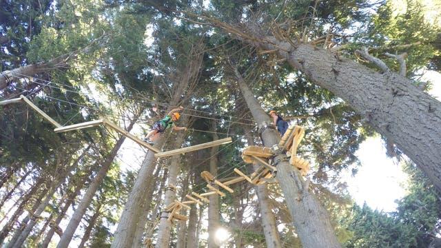 Euca, el nuevo parque de aventura en el cerro Otto