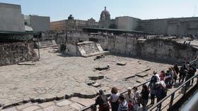 El centro de la capital de los aztecas