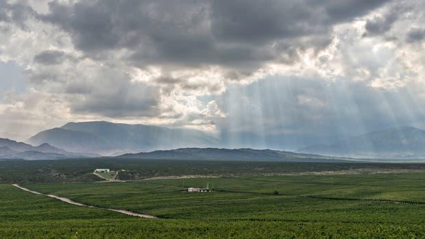 Una vista de Valle de Pedernal, en San Juan