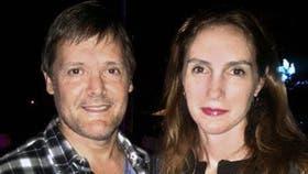 Claudia Schaefer junto a Fernando Farré, condenado la semana pasada a prisión perpetua por el homicidio de su esposa