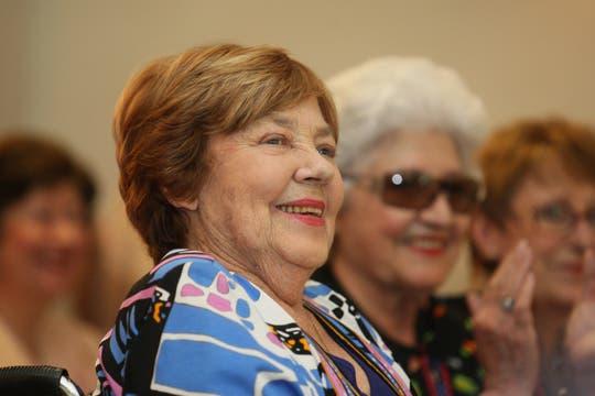 Durante la presentación de tres libros que editó Alfaguara, 24 de octubre de 2008. Foto: Archivo