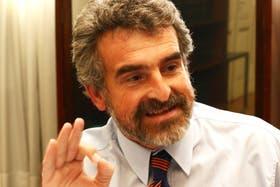 El santafecino Agustín Rossi, jefe del bloque kirchnerista en Diputados, habló de su provincia
