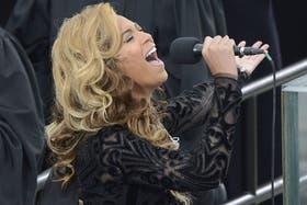 Beyoncé tenía que cantar el himno en la jura presidencial de Obama