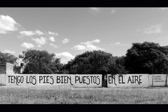Acción Poética Laboulaye. Foto: Facebook