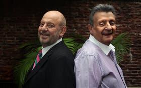 Jorge Lafauci y Guillermo Blanc, amigos