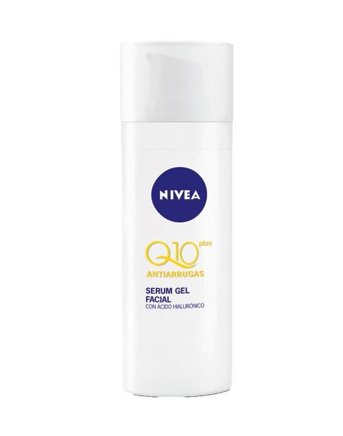 Serum Gel Facial Q10. Antiarrugas ($121,40, Nivea).
