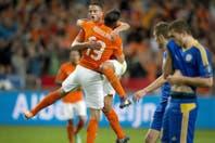 Holanda, Italia y Bélgica suman triunfos en sus caminos a la Eurocopa