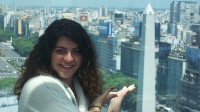 Avigail vivió en Buenos Aires por 6 meses