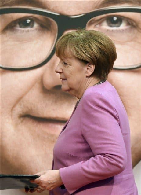 Merkel, en la última convención de su partido