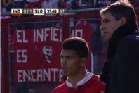 En Independiente debutó Gastón del Castillo, el hermano del Kun Agüero