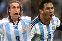"""Batistuta y el récord en la selección que le saca Messi: """"Un poquito me va a doler"""""""