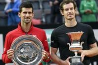 Andy Murray se tomó revancha y derrotó a Novak Djokovic en la final de Roma