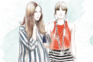 Moda: 10 maneras de usar rayas