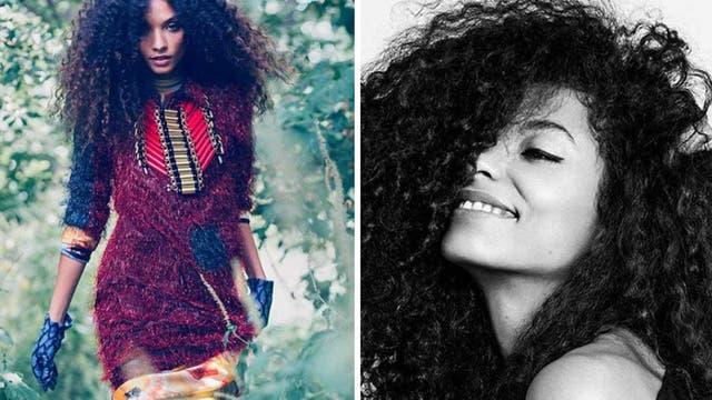 La dominicana Yaris Cedano, una de las modelos latinoamericanas que se adhirió a la petición