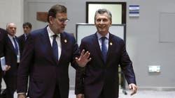 Rajoy y Macri, durante su encuentro en China