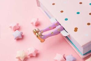 Objetos locos: marcadores para libros