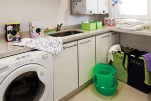 Ideas para armar un lavadero lindo y funcional