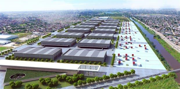 Así será el Mercado Central del futuro, según el render del proyecto que maneja el Gobierno