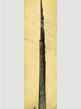 """Cuatro veces más alto que el Empire State, dos veces más alto que el Burj Khalifa, el """"Illinois"""", de 528 pisos, hubiera tenido ascensores impulsados por energía atómica"""