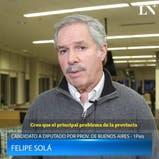 Elecciones 2017: qué es lo que más le preocupa de su distrito a Felipe Solá