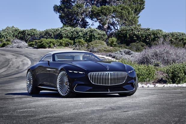 Vision Mercedes-Maybach 6 Cabriolet, un concept car de avanzada