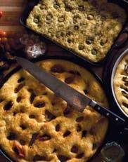 Focaccias: opciones para comer durante el mes del mundial