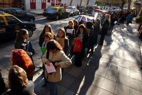 En Argentina hay unas 1,23 millones de personas con problemas para conseguir trabajo