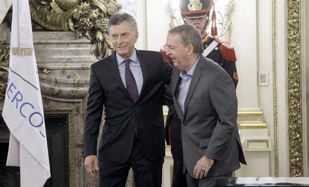 Schiaretti le hizo un planteo al presidente Macri