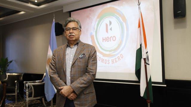 Pawan Munjal, chairman y CEO de Hero Motocorp.