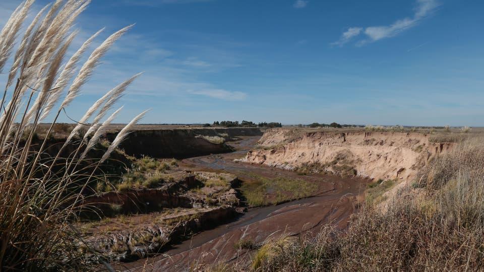 Nuevos ríos: otras sorpresas que trajo el cambio climático en la Argentina. Foto: LA NACION / Diego Lima