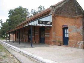 La estación que dio lugar a Estación Matilde