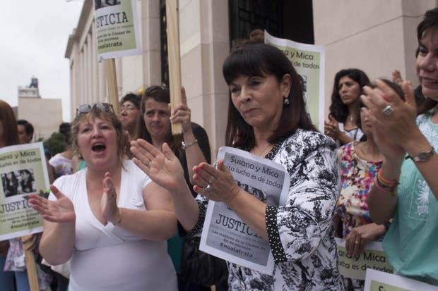Susana Trimarco, mamá de Marita Verón, en su reclamo de justicia