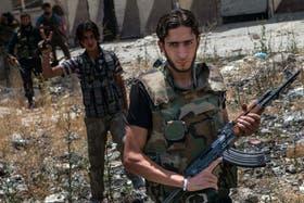 Los rebeldes no pueden hacer frente a un gobierno cuestionado que utiliza armas químicas para contenerlos