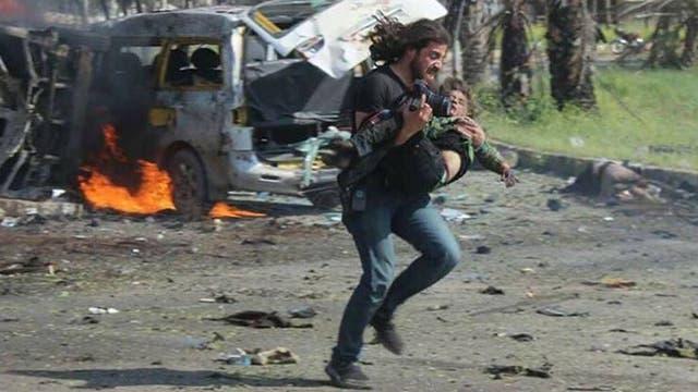 La desgarradora imagen del fotógrafo que no pudo salvar a los niños de Siria
