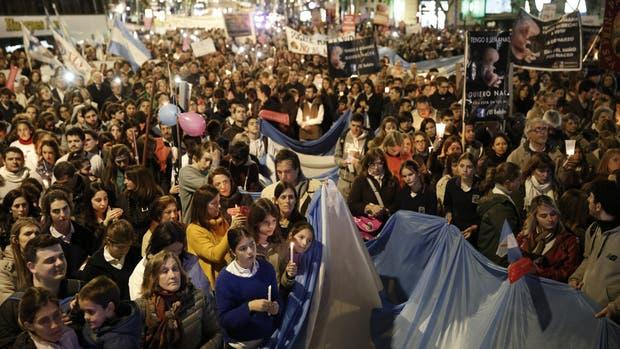 La marcha empezó en la Plaza de Mayo y finalizó en la plaza del Congreso