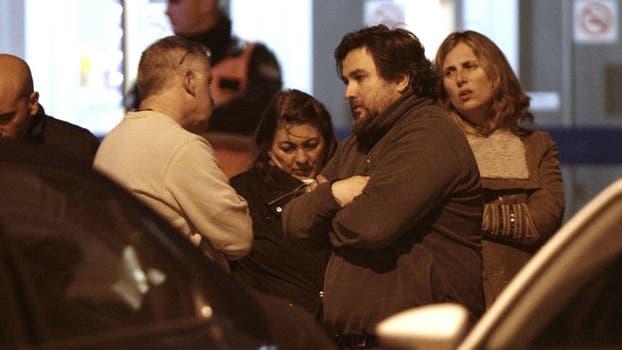 Familiares de los tres hombres que viajaban en el avión llegaron al aeropuerto de San Fernando tras el hallazgo de la nave. Foto: LA NACION / Santiago Filipuzzi